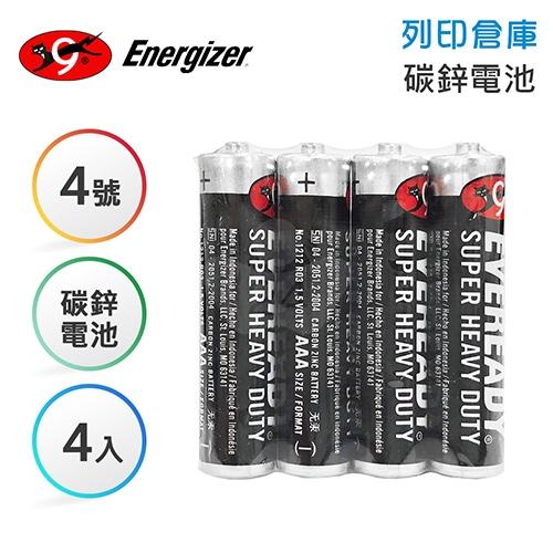 Eveready永備 4號 碳鋅電池4入