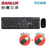 SANLUX SYKM-0813(U+U)台灣三洋鍵盤滑鼠組(USB)