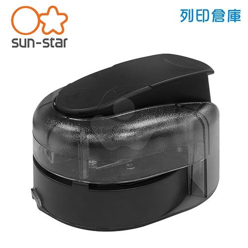 【日本文具】SUN STAR 太陽星 KADOMARU PRO-NEO 省力升級版三用圓角裁剪器-黑