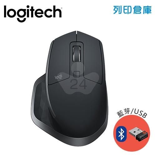 Logitech 羅技 MX Master 2S 藍芽無線滑鼠-黑(藍芽/USB)