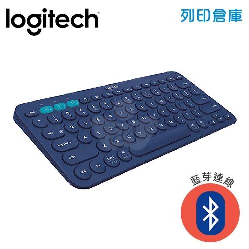 Logitech 羅技 K380跨平台藍牙鍵盤-藍