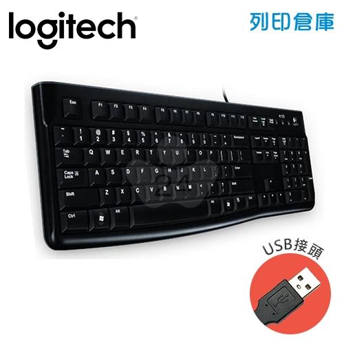Logitech 羅技 K120有線鍵盤(USB)