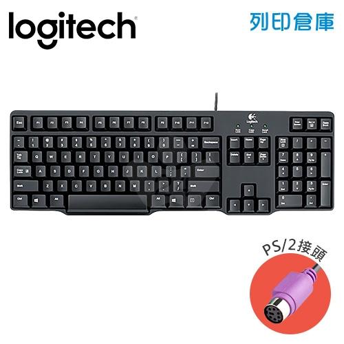 Logitech 羅技 K100經典有線鍵盤(PS/2)