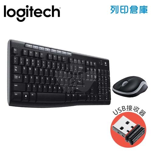 Logitech 羅技 MK270r 無線滑鼠鍵盤組(USB接收器)
