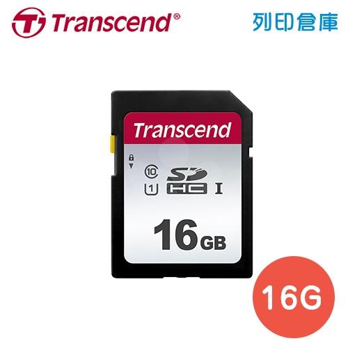 創見 Transcend 300S SDHC UHS-I U1 / 16G 記憶卡