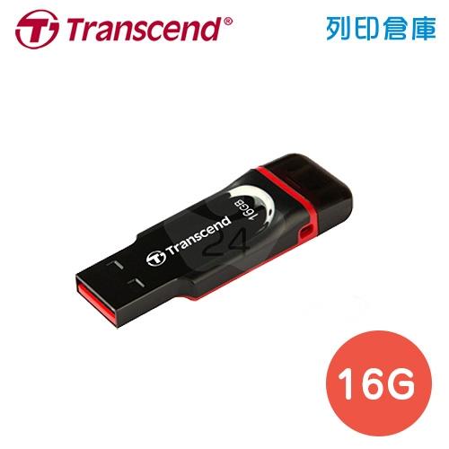 創見 Transcend JetFlash340 OTG / 16G 隨身碟 黑色