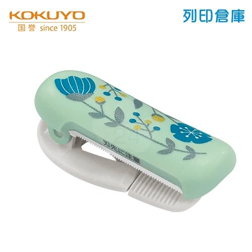 【日本文具】KOKUYO 國譽 T-SM401L2-2 夾式膠台 北歐森林花紋/個 (適用膠帶寬度20-25mm)