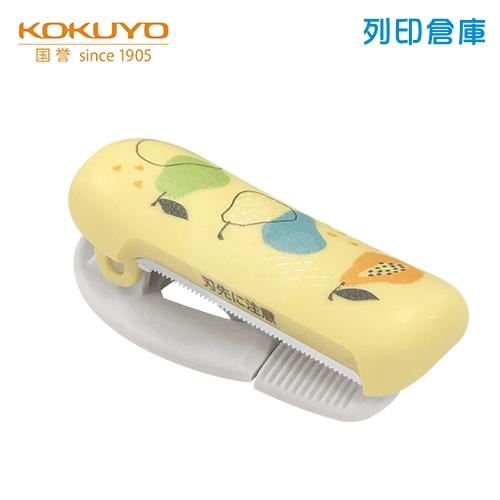 【日本文具】KOKUYO 國譽 T-SM401L2-3 夾式膠台 北歐森林花冠/個 (適用膠帶寬度20-25mm)