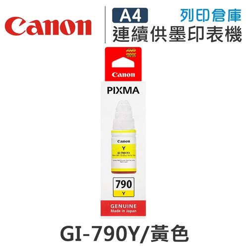 CANON GI-790Y / GI790Y 原廠黃色盒裝墨水