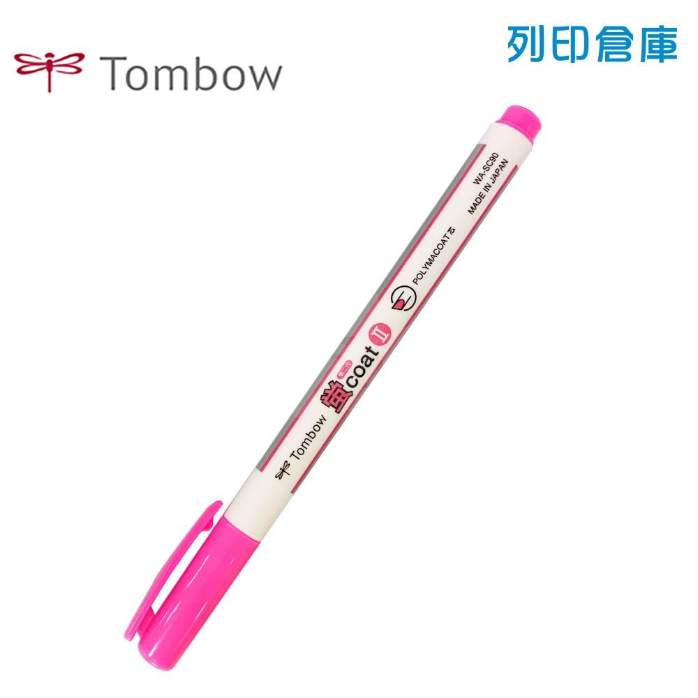 TOMBOW 蜻蜓牌 WASC-33 粉紅色 螢光筆 1支