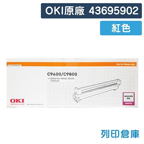 OKI 43695902 / C9600 / C9800 原廠紅色感光鼓