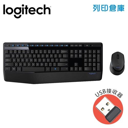 Logitech羅技 MK345 無線滑鼠鍵盤組(USB接收器)