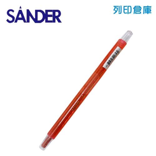 SANDER 聖得 B-1703 紅色 旋轉蠟筆 (素面) 1支