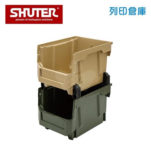 SHUTER 樹德 HB-2128X2 摩艾疊疊盒 雙層混色/組