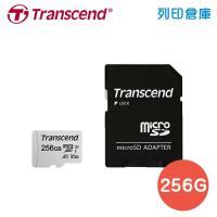 創見 Transcend microSDXC 300S UHS-I U3(V30/A1)IPX7 / 256GB 記憶卡附轉接卡(支援 4K 錄影)
