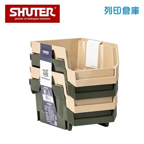 SHUTER 樹德 HB-1014X4 摩艾疊疊盒 四層混色/組