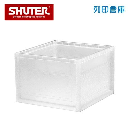 SHUTER 樹德 KD-2638X 巧拼收納箱 透明色 (個)