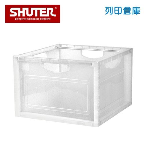 SHUTER 樹德 KD6F-2638 A4吊掛分類扶手孔巧拼資料箱 透明色 (個)