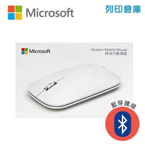 Microsoft 微軟 KTF-00064 時尚行動滑鼠-月光灰(藍芽)