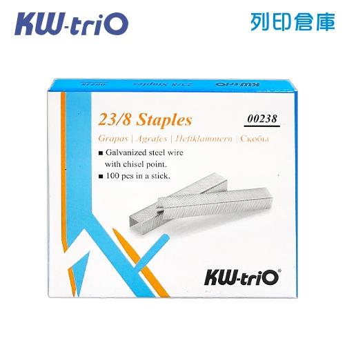 KW-triO 0238 釘書針 23/8 /盒