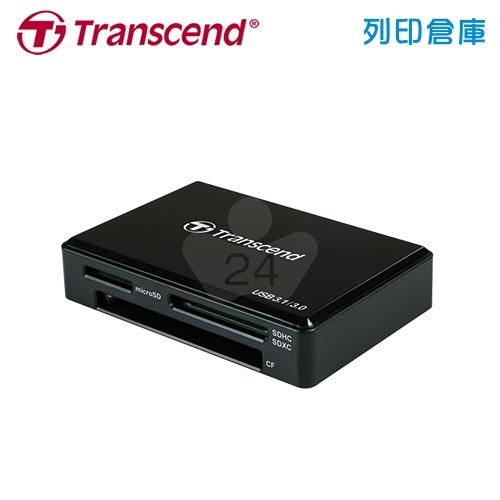 創見 Transcend USB 3.1/3.0 UHS-II (TS-RDF9K) 多功能讀卡機 黑色