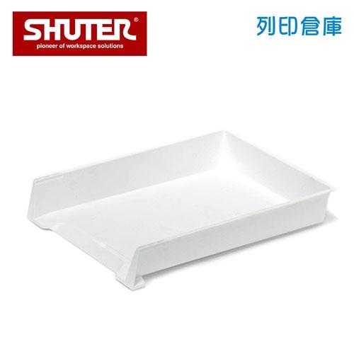 SHUTER 樹德 OA-2937 紙飛機文件架 白色 (個)