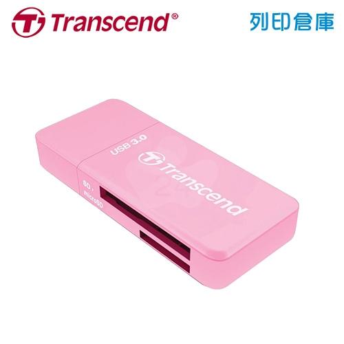 創見 Transcend F5 USB 3.0 (TS-RDF5R) 讀卡機 紅色