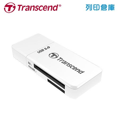 創見 Transcend F5 USB 3.0 (TS-RDF5W) 讀卡機 白色