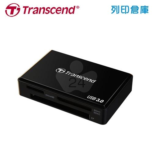 創見 Transcend F8 USB 3.0 (TS-RDF8K) 多合一讀卡機 靓亮黑