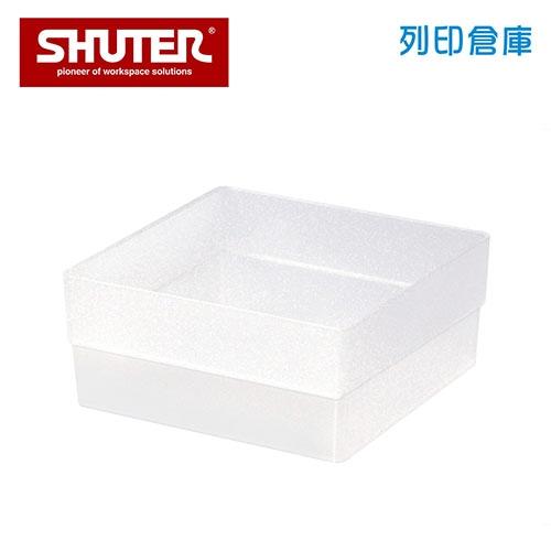 SHUTER 樹德 SB-1414H 方塊盒 透明色 (個)